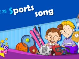 Theme 28. Sports song – I like baseball | ESL Song & Story