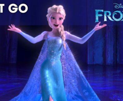 FROZEN   Let It Go Sing-along